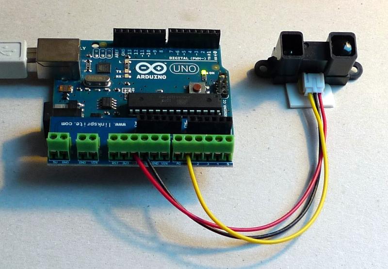 Infrarot entfernungsmesser arduino arduino ultraschall